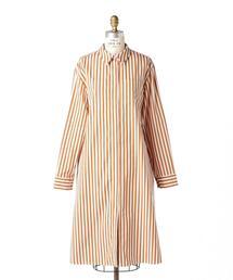〈maison rabih kayrouz (メゾン ラビ カイルー)〉 STRIPE SHIRT DRESS