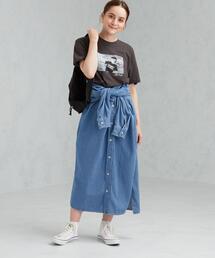 [ 別注 ] [ リー ] SC LEE×GLR デニム シャツ ワンピース