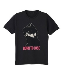 JOHNNY THUNDERS/BORN TO LOSE Tシャツブラック