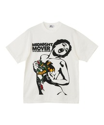 MIDNIGHT MOVER Tシャツホワイト