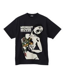 MIDNIGHT MOVER Tシャツチャコールグレー