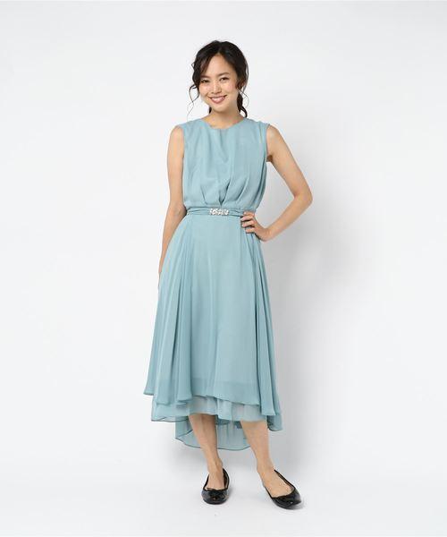 【国内配送】 【セール】バックレースドレス 結婚式 de/二次会 セール,SALE,Debut/お呼ばれワンピース(ドレス) LAISSE PASSE(レッセパッセ)のファッション通販, GREEN RIBBON:f5fd7066 --- pyme.pe