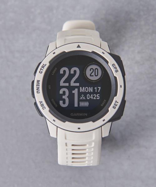 GARMIN(ガーミン)の「<GARMIN(ガーミン)> InstinctΩ(アナログ腕時計)」|オフホワイト