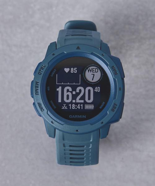 GARMIN(ガーミン)の「<GARMIN(ガーミン)> InstinctΩ(アナログ腕時計)」|コバルトブルー