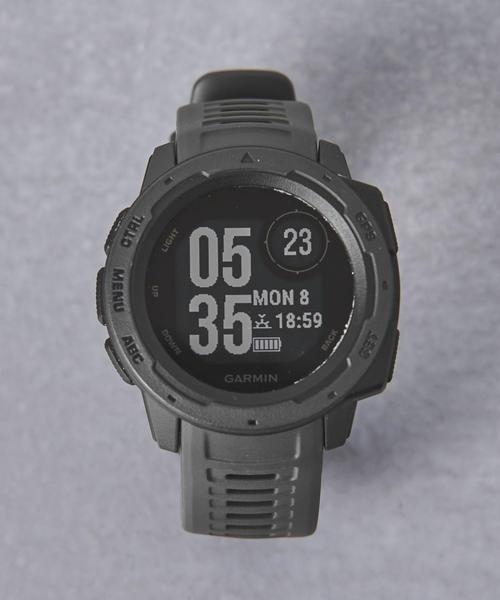 GARMIN(ガーミン)の「<GARMIN(ガーミン)> InstinctΩ(アナログ腕時計)」|ブラック