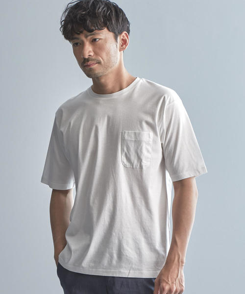 【WORK TRIP OUTFITS】CO スムース ショート SL Tシャツ