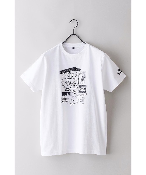 【OUTDOOR PRODUCTS】 FM802コラボ Tシャツ フロントプリント バックプリント 両面プリント