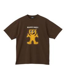 HAPPY DOLL Tシャツブラウン