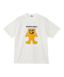 HAPPY DOLL Tシャツホワイト