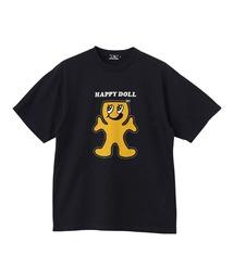 HAPPY DOLL Tシャツチャコールグレー