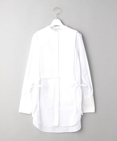 <PHEENY>レイヤード ドレスシャツ -2WAY- Ψ