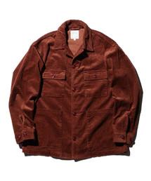 BEAMS(ビームス)の「【WEB限定】BEAMS / NEW STANDARD コーデュロイ ワイドシャツジャケット(ブルゾン)」