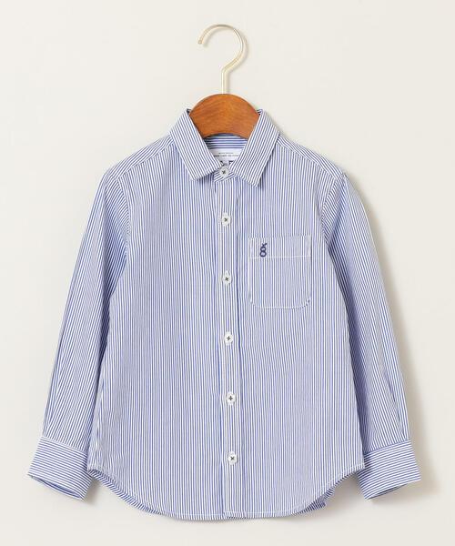 【キッズ】ストライプ&チェックシャツ