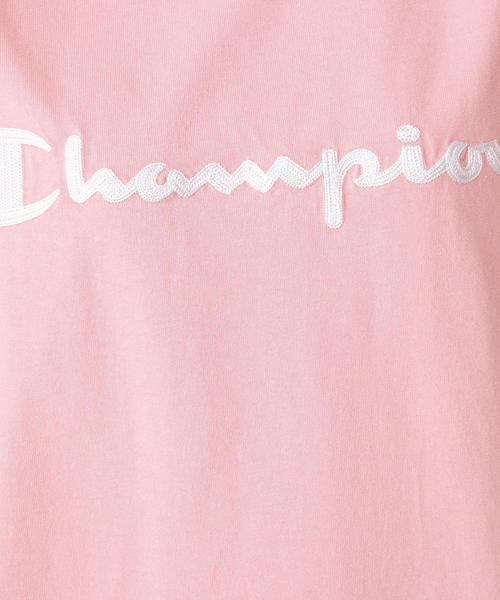 【WEB限定販売】Champion(チャンピオン) フロント刺しゅうワンピース