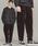BEAUTY&YOUTH UNITED ARROWS(ビューティアンドユースユナイテッドアローズ)の「BY コーデュロイ 1P ルーズパンツ(パンツ)」|ダークブラウン