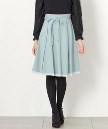 MISCH MASCH(ミッシュマッシュ)の配色ハギフレアースカート(スカート)