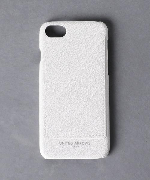 <UNITED ARROWS> マイクロファイバー I PHONE CASE 8◆