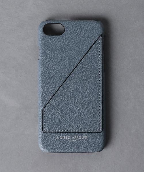 <UNITED ARROWS> マイクロファイバー I PHONE CASE 8