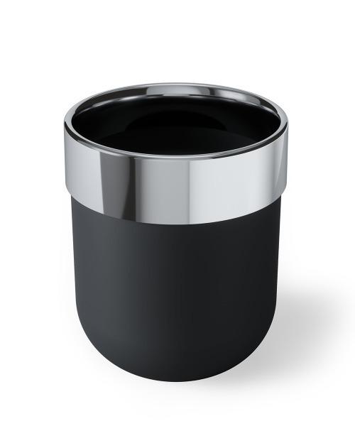 umbra/ジュニップ カン ゴミ箱 ブラック