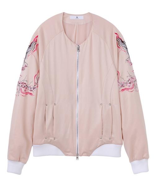 DIET BUTCHER 'SAKURA' embroidery souvenir jacket