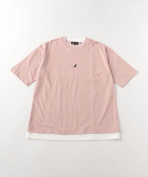 <A DAY IN THE LIFE> KANGOL フェイクレーヤードTシャツ