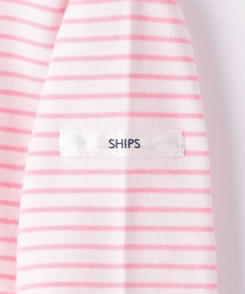 SHIPS KIDS:ミニボーダー カットソー(80~90cm)