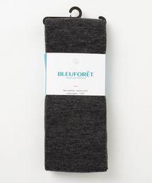 BLEU FORET(ブルーフォレ)のBLEU FORET: ウールインサイドコットンタイツ(ソックス/靴下)