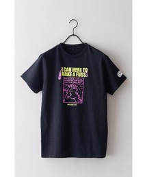 【OUTDOOR PRODUCTS】FM802コラボ Tシャツ 2 フロントプリント バックプリント 両面プリントブラック