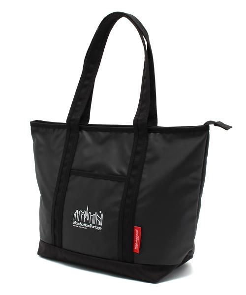 Manhattan Portage(マンハッタンポーテージ)の「MP Logo Printed Cherry Hill Tote Bag(トートバッグ)」|ブラック