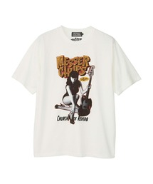MESSER CHUPS/MC FROM RUSSIA Tシャツホワイト