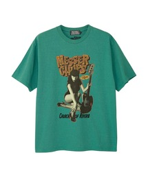 MESSER CHUPS/MC FROM RUSSIA Tシャツグリーン