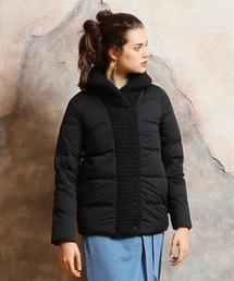 YOSOOU(ヨソオウ)のKnit Shawl Color Coat/ニットショールカラーコート(ダウンジャケット/コート)