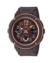 BABY-G(ベビージー)の「Dark colors(ダークカラーズ)華やかなアラビック数字 / BGA-150PG-5B2JF / ベビーG(腕時計)」