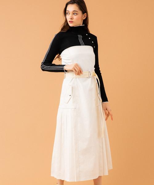 公式の店舗 UNITED TOKYOプリーツジャンパースカート(ワンピース) UNITED TOKYO(ユナイテッドトウキョウ)のファッション通販, キタムラ:a55b7c6c --- svarogday.com
