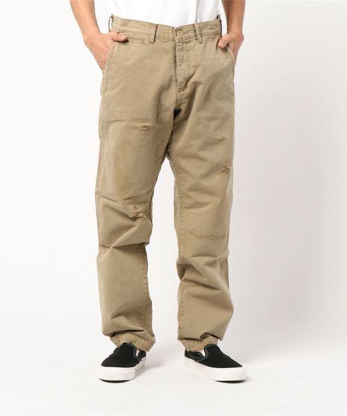 新品 【セール】ビンテージヘリンボーン wide wide pants(パンツ) セール,SALE,LA|LA MARINE FRANCAISE(マリン MARINE フランセーズ)のファッション通販, KADERIA:4b821173 --- kredo24.ru