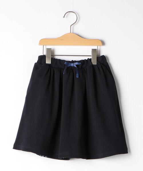 テレコ×チェック リバーシブルスカート