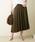 GALLARDAGALANTE(ガリャルダガランテ)の「イレギュラープリーツスカート(スカート)」|詳細画像