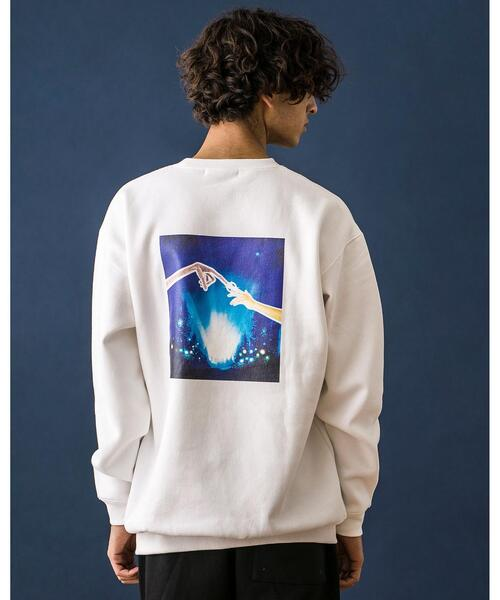 <E.T.> SWEAT CREWNECK MTEX/スウェット