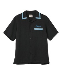 ENDLESS NIGHT刺繍 ボーリングシャツブラック
