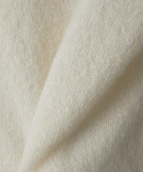 un dix cors(アンディコール)の「【手洗い可】ヤク混ハイネックニット(ミドル丈)(ニット/セーター)」 詳細画像