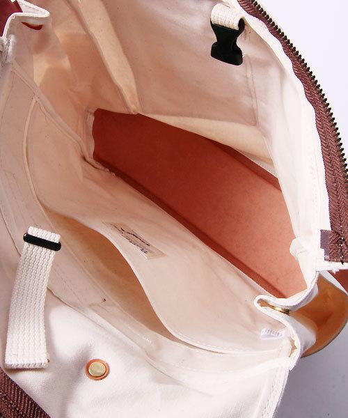 Butler Verner Sails(バトラーヴァーナーセイルス)の「Butler Verner Sails バトラーバーナーセイルズ / No. 10 paraffin open fastener backpack 10号パラフィン オープンファスナーリュック / JA-1611(バックパック/リュック)」 詳細画像