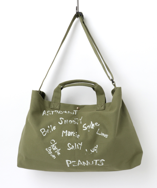 SNOOPY 2way Shoulder Bag(JOE COOL)/スヌーピー2ウェイショルダーバッグ