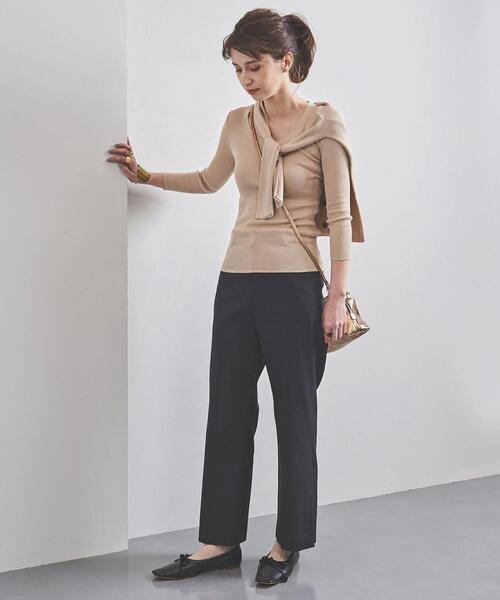 上品カジュアルな30代ファッション