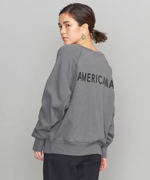 <Americana(アメリカーナ)>バックロゴスウェット: