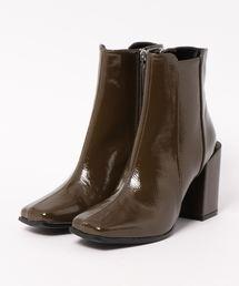 SLY(スライ)のEMBOSSING SHORT BOOTS(ブーツ)