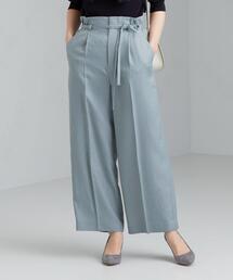 ◆FFC トリアセ / PE ストレート ワイド パンツ <34-42サイズ>