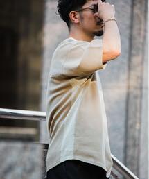 ★ [ GLR/ lab ] メッシュ フットボール Tシャツ