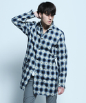 VIRGO | NATIVE MIDDLE CHECK SHIRTS(襯衫)