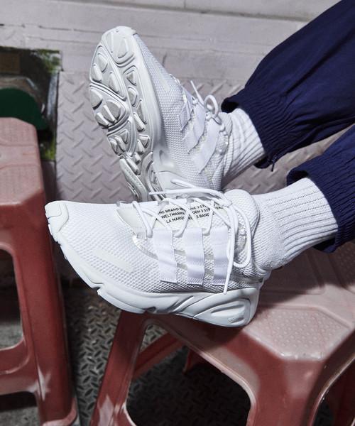 adidas(アディダス)の「レキシコン [LXCON] アディダスオリジナルス(スニーカー)」|ホワイト×ホワイト