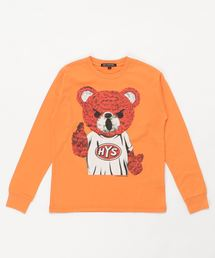 BEAR MASTER Tシャツ【L】オレンジ